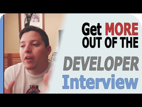 How Get The Most Out Of A Web Developer Job Interview.