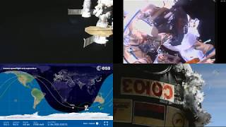 Leakcheck Evidence Wrapup - LIVE EVA International Space Station Expedition 57 Russian Spacewalk