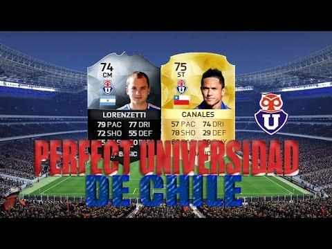 FIFA 16: PERFECT UNIVERSIDAD DE CHILE!
