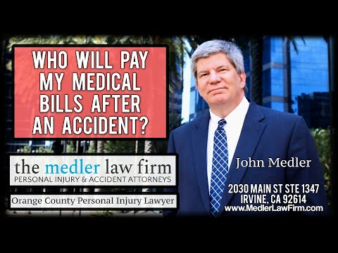Who Will Pay My Medical Bills After An Accident?