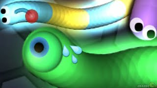 Slither.io The Most Aggressive Snake Ever In Slitherio (Slither.io Best Moments) !