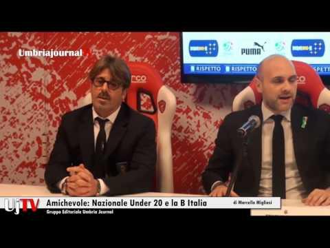 Al Curi il 14 febbraio amichevole tra B Italia e la Nazionale under 20
