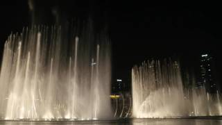 The Dubai Fountain: Theme from