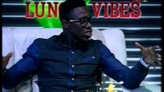 DVD with Ajibade Oyemade on Comedy Cruise and Lunch Vibes