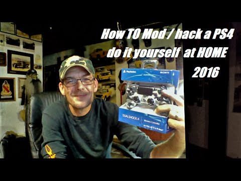 How to MOD / hack your PS4 joystick !! cheap and easy at home w/ TIVAN do you want it find out how