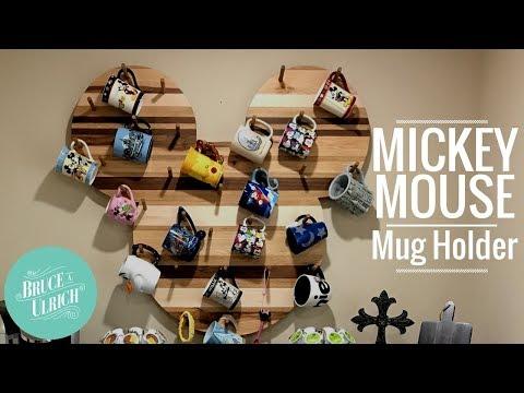 How to Make A Mickey Mouse Mug Holder