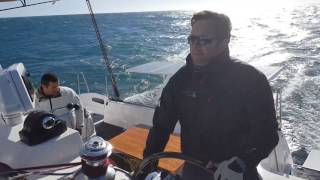 Outremer 45' sailing