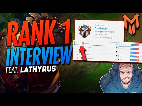 I interviewed the RANK 1 Player.. Carrying from support in LoL