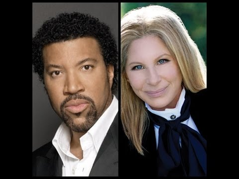 Barbra Streisand with Lionel Richie