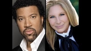 "Barbra Streisand with Lionel Richie ""The Way We Were"""