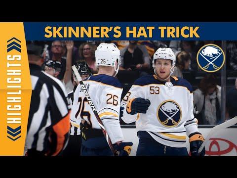 Jeff Skinner Hat Trick For Buffalo Sabres