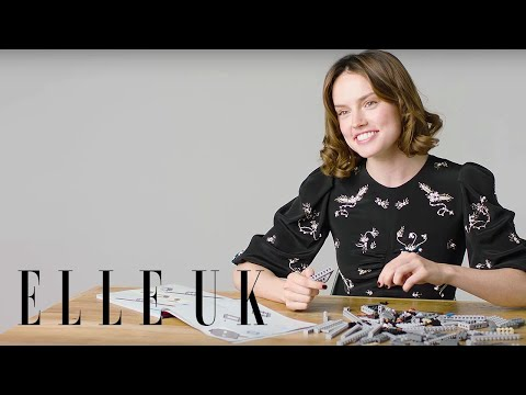 Thumbnail: Daisy Ridley Builds A Millennium Falcon (While Answering Our Questions)