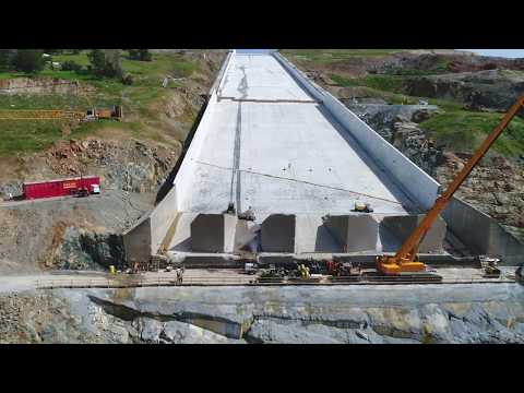 Oroville Spillways Phase 2 Update Mid-April 2018