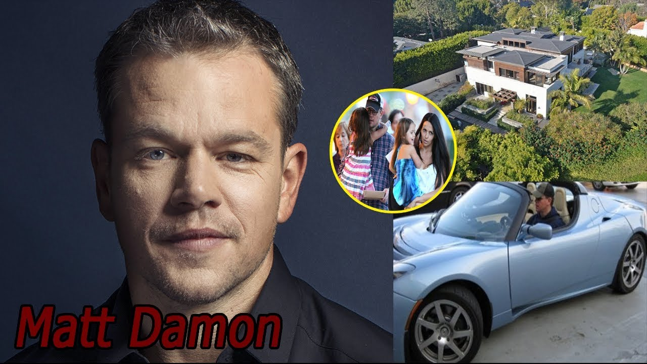 Matt Damon Lifestyle, Net Worth, Biography, Family, kids ...