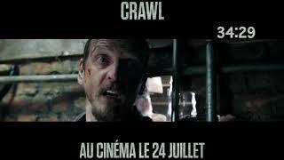 CRAWL - Spot Underwater 20 [Actuellement au cinéma]