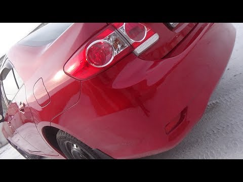 Как снять-установить задний бампер. Toyota Corolla X (E140, E150) Рестайлинг.