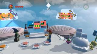 Cloud Cuckoo Land all collectibles (fireworks,red bricks,boxes) - The LEGO Movie Videogame