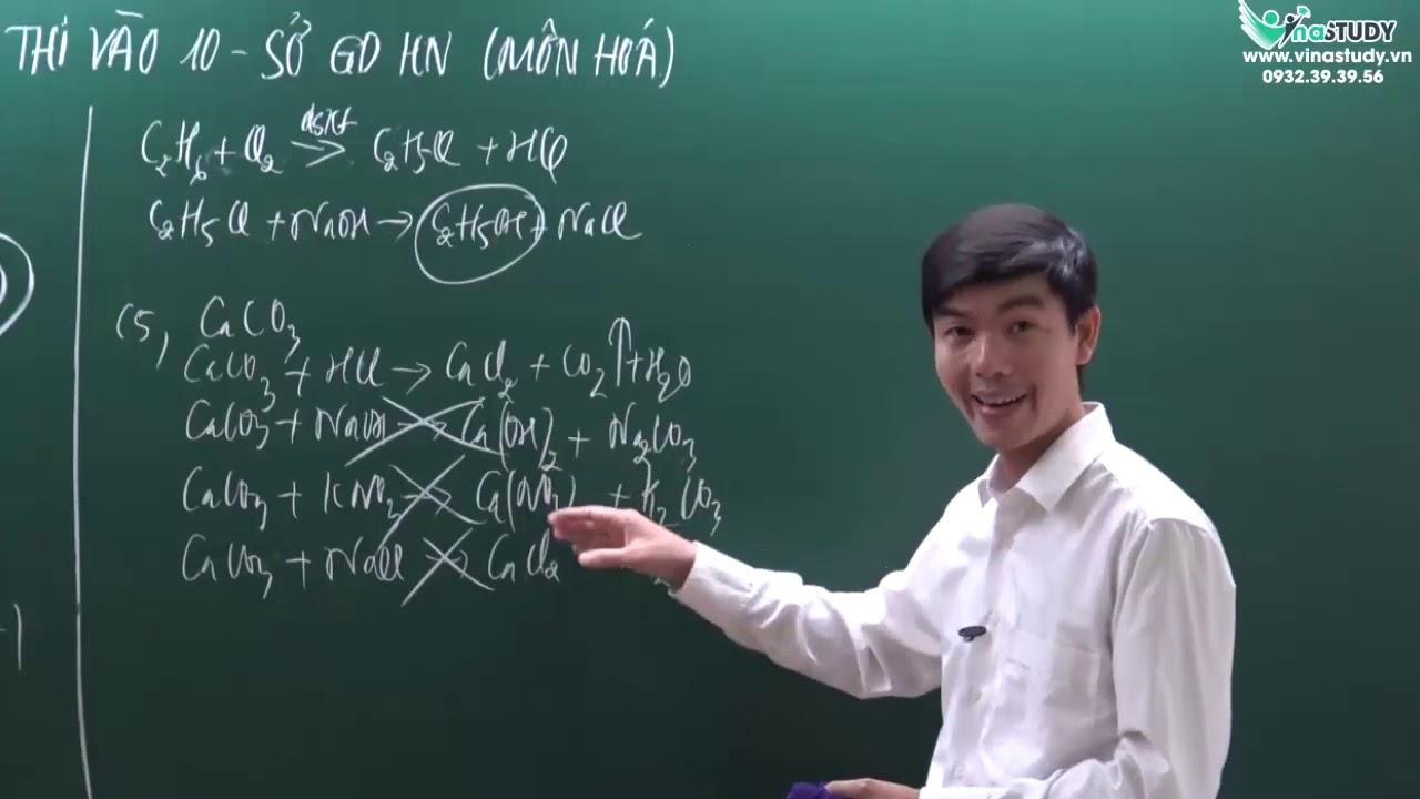[Hóa học lớp 9 ] Chữa đề minh họa thi vào 10  – Sở GDHN – Thầy Tây