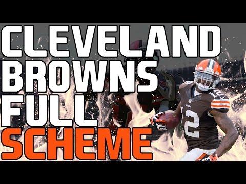 Madden 17: Free Full Cleveland Browns Offensive Scheme! - Offensive Money Plays! DOMINATION!