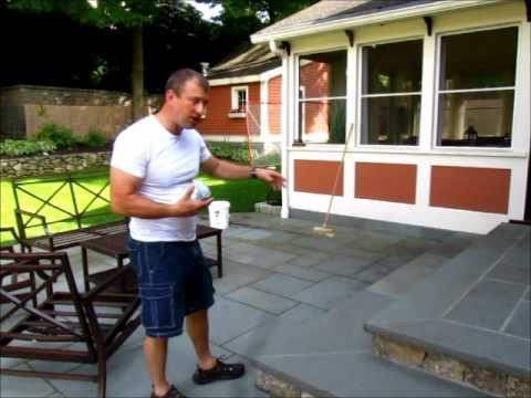 Cleaning A Bluestone Patio Introduction Video Youtube