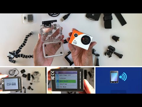 Explore One HD Action Camera with Wifi | Review and How to Use