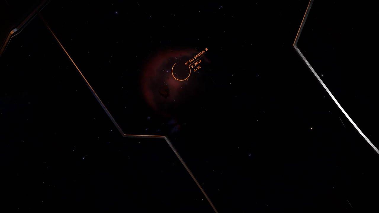 Elite: Dangerous - Black Hole Lense Effect - YouTube