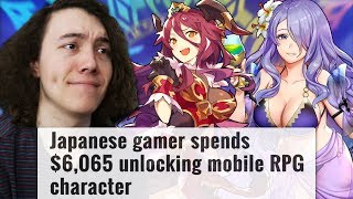 I think I'm way too addicted to way too many gacha games. Support m...