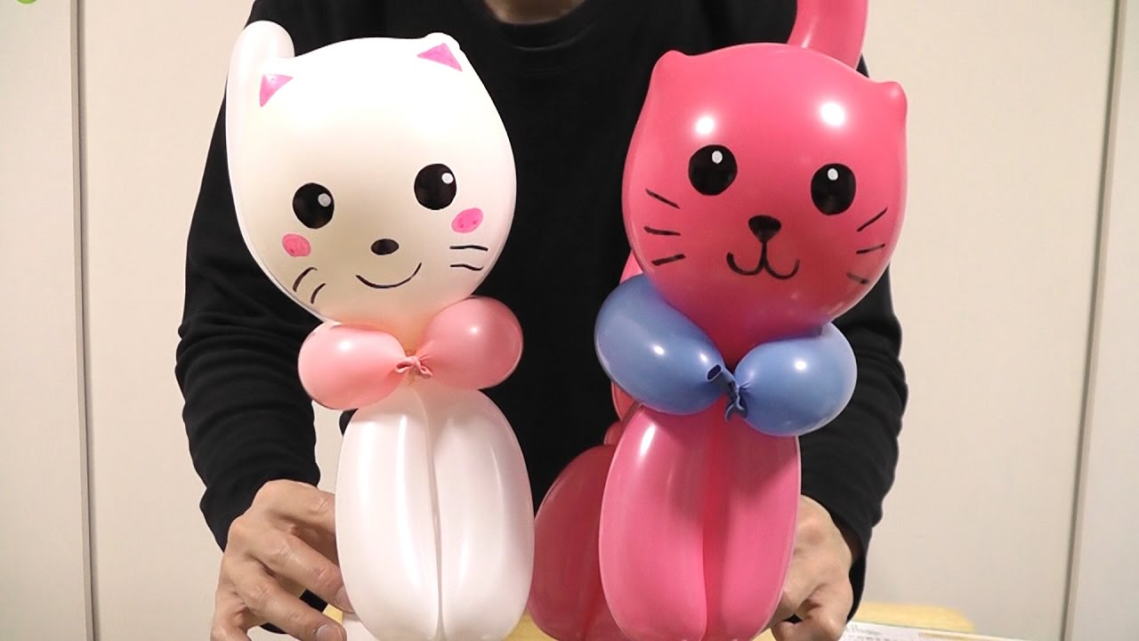 How To Make Cat Balloons