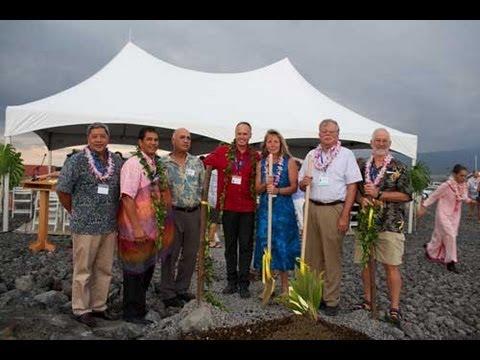 Groundbreaking - New Marine Mammal Center Hawaiian Monk Seal Facility - Sept. 15, 2012