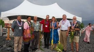 Groundbreaking - New Marine Mammal Center Hawaiian Monk Seal Facility - Sept. 15, 2012