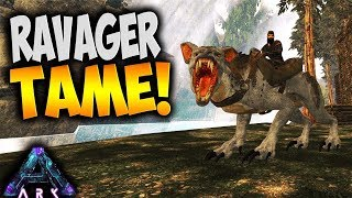 AMAZING MOUNT! RAVAGER Tamed - Ark Aberration Pooping Evolved (Ark Survival Evolved Aberration Ep 2)