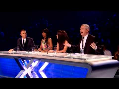 Craig Colton with James Bonds License To Kill X Factor UK 2011