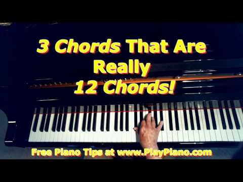The 3 Chords That Are Really 12 Chords!