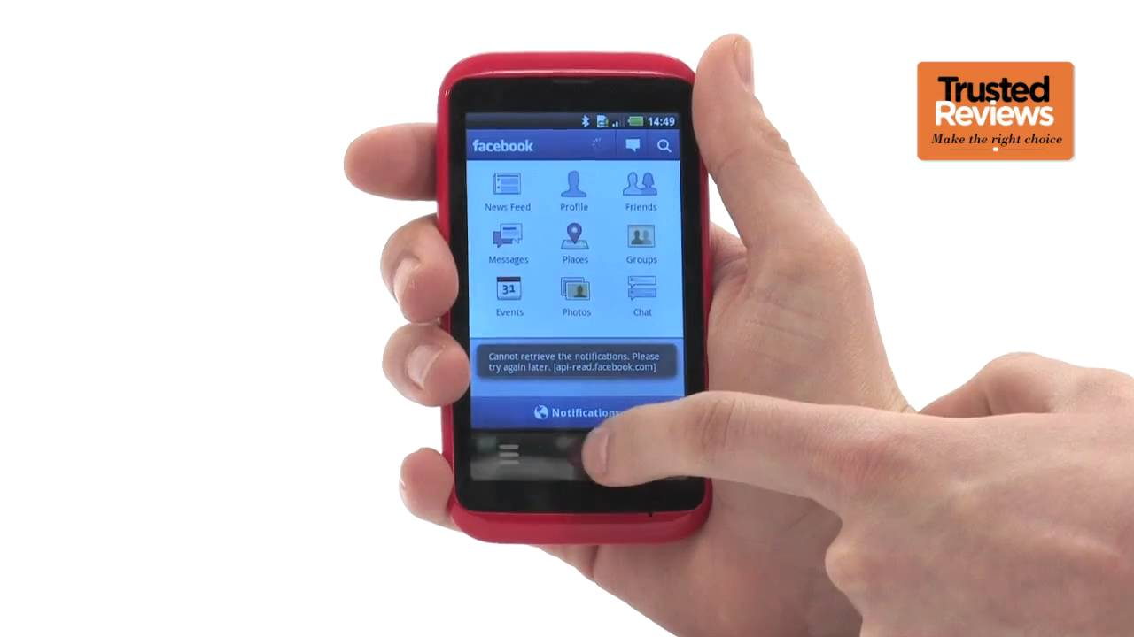 Inq cloud touch mobile phone review youtube for Telephone portable a touches