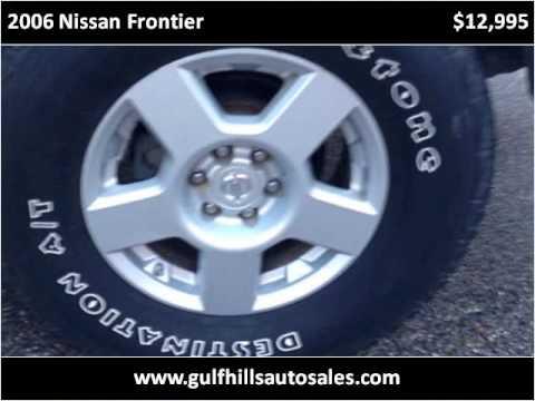 2006 Nissan Frontier Used Cars Ocean Springs MS