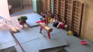 Спортивная гимнастика турнир А.Береша 2013 г.Херсон