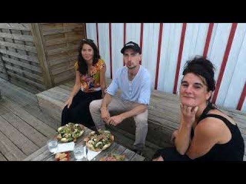 Entretien avec Aurélia,  Mario et Lucie à Grand Piquey, Cap Ferret
