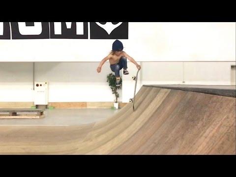 El nuevo video de Ocean Brown, el skater de cinco años