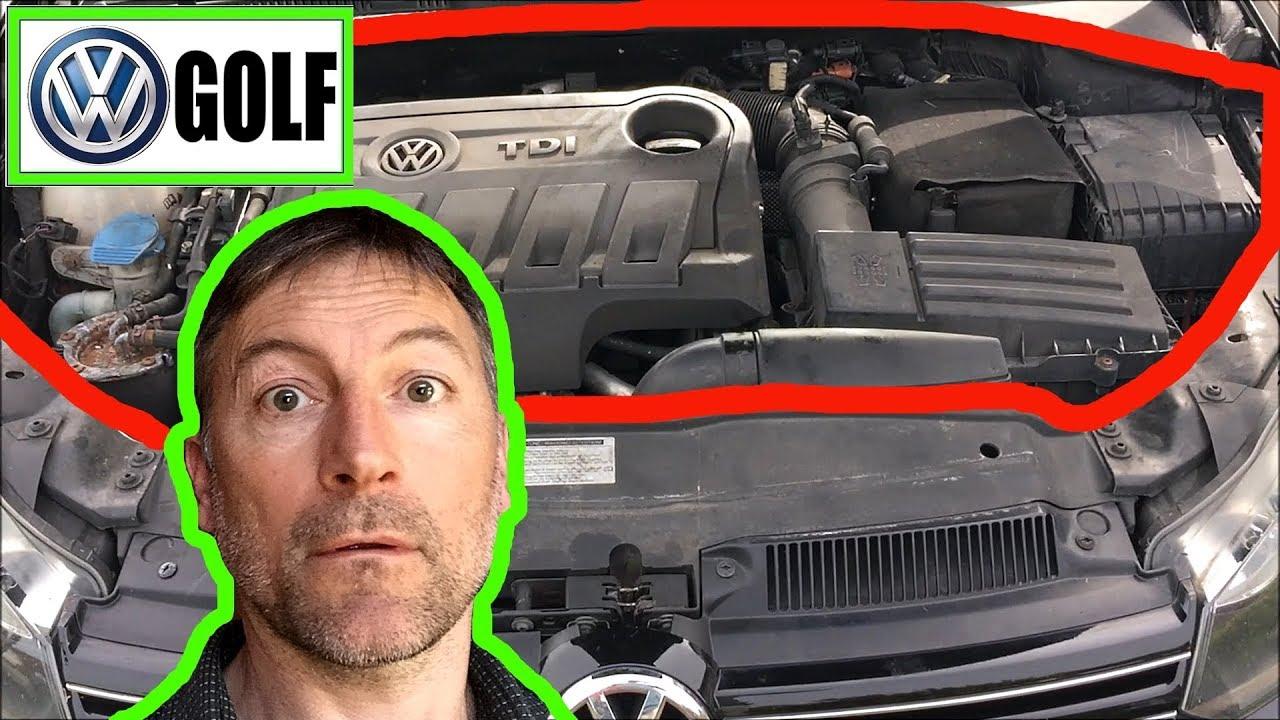 VW Golf Engine Bay Overview 2.0 TDI Diesel - YouTubeYouTube