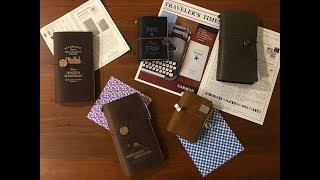 Unboxing & Setup: Traveler's Factory Tokyo Station & Narita Airport Traveler's Notebook editions