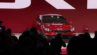 Kia reveals new 2019 Forte at North American International Auto Show