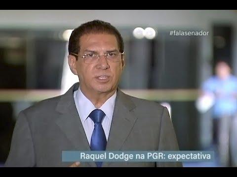 #falasenador: Jader Barbalho comenta expectativa para atuação de Raquel Dodge na PGR