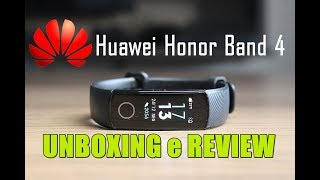 É Linda! SmartBand Huawei Honor Band 4 - Unboxing e Review