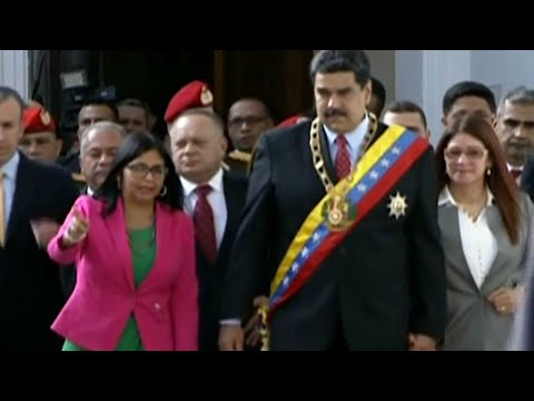 Legitimacy of Venezuela presidency questioned as Maduro enters second term