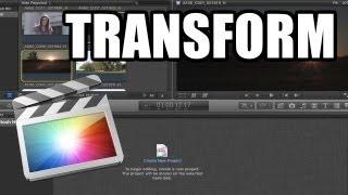 Final Cut Pro X - #7: Transform, Crop y Distort
