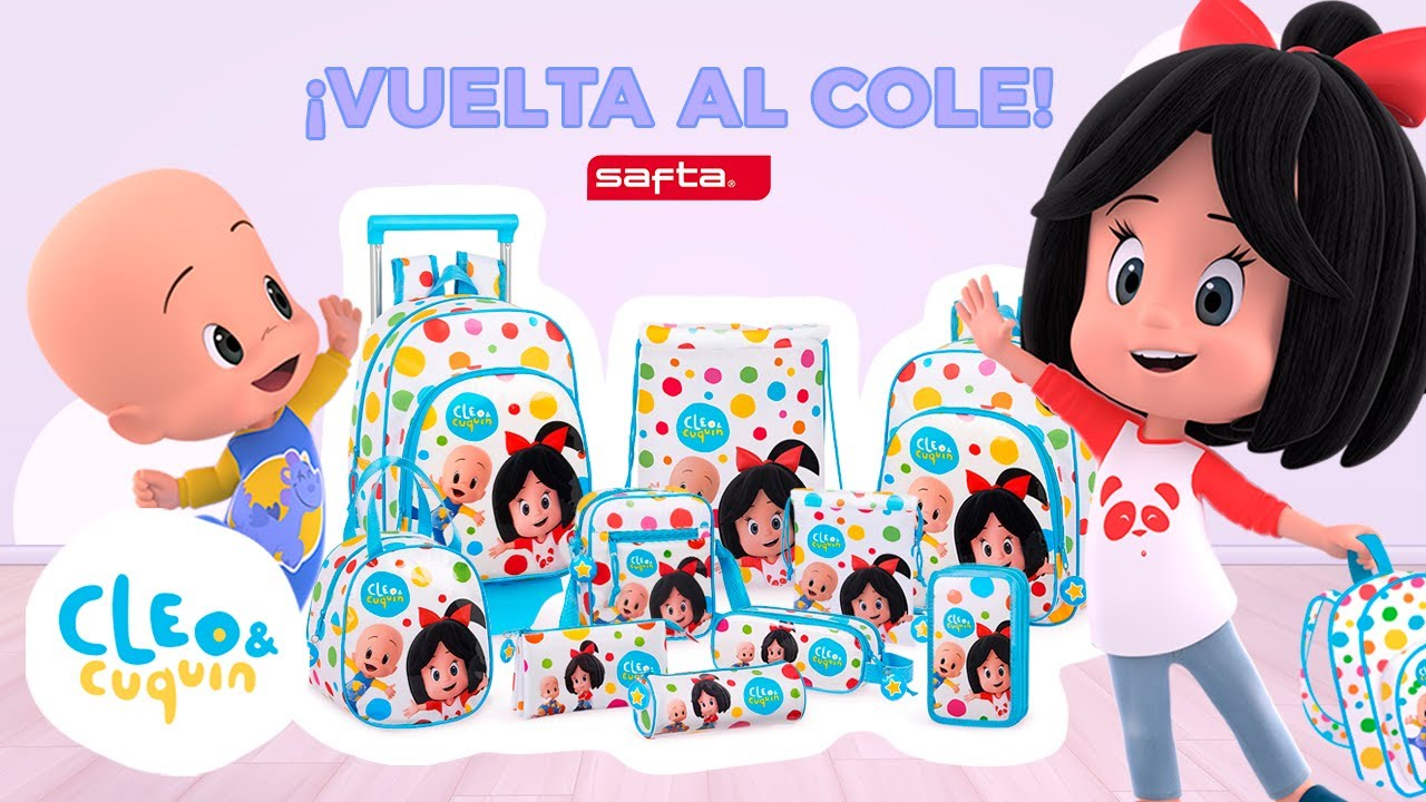 De vuelta al cole con Cleo y Cuquin | Familia Telerin