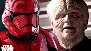 """Sith Trooper Origin Says """"They Draw Power From an Ancient Dark Place"""" - Star Wars Episode 9"""