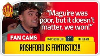RASHFORD World Class Manchester United 2-1 Tottenham FanCam