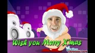 My Face Christmas Card (Animated) - Disco Disco Dance Dance!!!