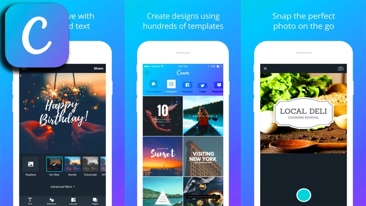Canva - Graphic Design & Photo Editing - Photo & Video Application - YouTube